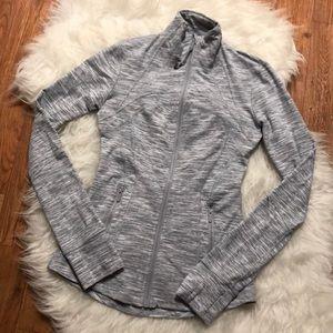 Lululemon Define Zip Up Jacket In Gray 2